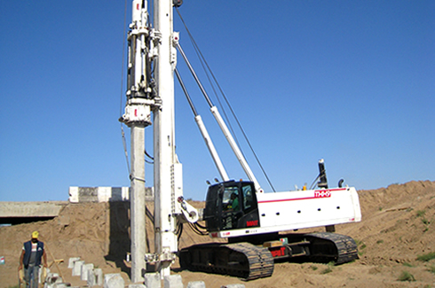 Lifting and pile driving